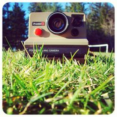 Polaroid camera.  Remember that stinky stick thing that you had to treat the pictures with so they wouldn't fade away?
