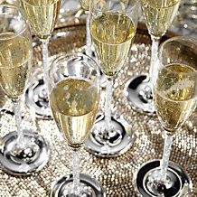Celebrate with an #NYE toast in our stunning Gisele Champagne Flutes.