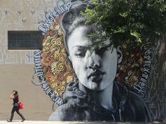 Street Art by El Mac and Retna #streetart