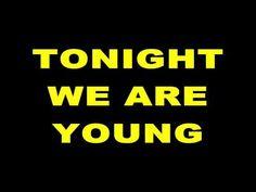 Fun - We Are Young [LYRICS ON SCREEN]