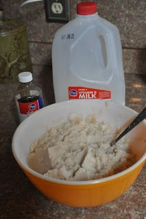 Snow What? Fun and easy snow ice cream recipe you can do with your kids!