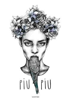 draw, marynn, ilustracion, art dan, poster, artist, enjoy art, illustr, piu piu