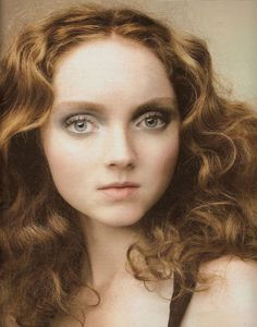 face, perms, fashion models, lili cole, lily cole, art, star, redhead, portrait
