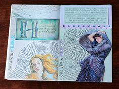 Artistic scripture journaling