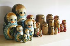 nesting doll collection. love.