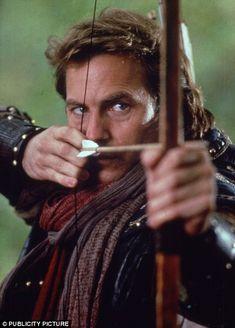 Ooh - Kevin Costner as Robin Hood...