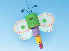 "Kids ""bugging"" you this summer? If you're looking for an outdoor activity for your kids, this adorable critter is the perfect solution!    Craft of the Day - July 30, 2012"