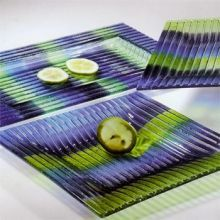 Fused-Glass Plates & Platters by Eastern Design - RETIRED