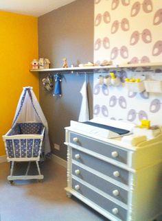 Kinderkamer Babykamer Vogeltjes Op Behang Door Hannahuitink Pictures