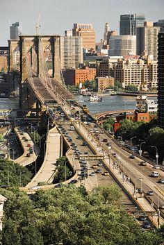 Brooklyn Bridge ~ New York City, New York
