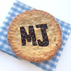 Learn how to create a monogram on your pie crust.