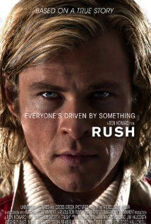 Rush (R) - Set against the golden age of Formula One racing in the 1970s, Rush is based on the true story of a spectacular sporting rivalry between English playboy James Hunt, and his structured, intelligent opponent, Austrian driver Niki Lauda.