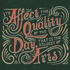 affect the quality of the day
