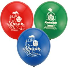 Thomas and Friends Printed Latex Balloons (6)