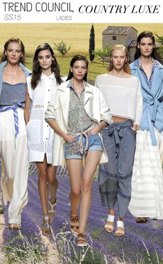 lux trend, springsumm 2015, countri lux, ss 2015