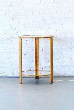 Gold Digga  Side Table  | Patina