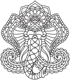 Mendhika Elephant design