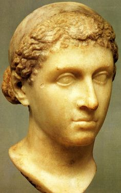 Queen Cleopatra VII - the living Goddess (believed to be a young version of) - so many questions for her.
