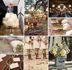 Country weddings rock!