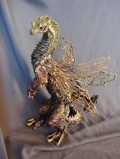 CUSTOM ORDER  Large Dragon by creaturesfromel on Etsy, $300.00