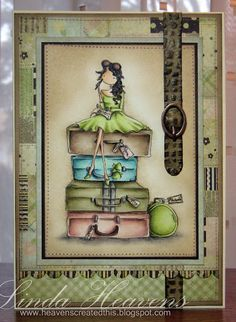 Stamping Bella image, card created by Linda...nicely done.