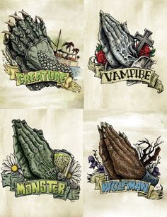 Cool Universal Monsters tattoo ideas...i love creature from the black lagoon...