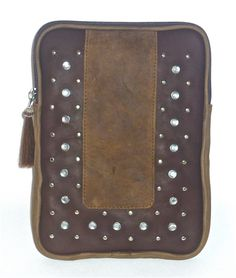 """Cofi Case - Western Tablet/eBook CoFi Case - Nevada, $109.99 (http://store.coficase.com/western-tablet-ebook-cofi-case-nevada/) CoFi Western's rhinestone studded leather tablet Case accommodates all 9""""-10"""" tablets, including iPads, Kindle Fire HD 8.9"""", etc. The high quality, unique Nevada case is chic, sexy, and secure, providing amazing protection for your tablet/ebook screen"""