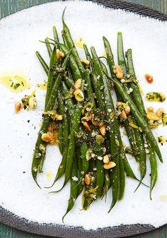 Ina Garten's Green Beans Gremolata Recipe