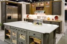 Black Glazed Cabinets | Ebony on Maple with Black Glaze #