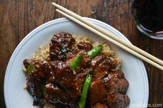 Looks simple & delicious! Mongolian Beef