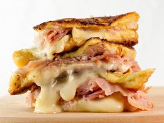Double Brie Croque Monsieur.