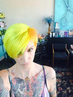 Bright Hair Colors on Pinterest #0: 866f f2c6097cb53ae67a9cc2f0b