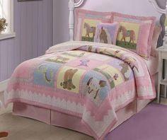 Girls Horse Bedding