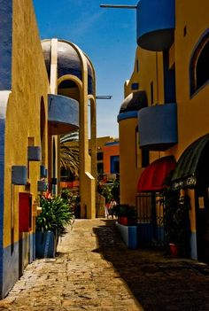 Street in Cabo, Mexico