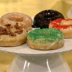 from The Chew - Carla Hall's Homemade Doughnuts - EASY!