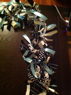 ribbon/string light garland