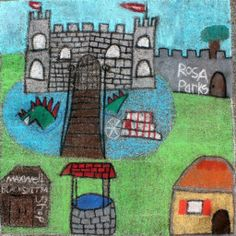 High School category — Square 104: 'Medieval Downtown Montgomery' by Jacob Burke, Sierra Duggar, Judson Parker, and Grace George.