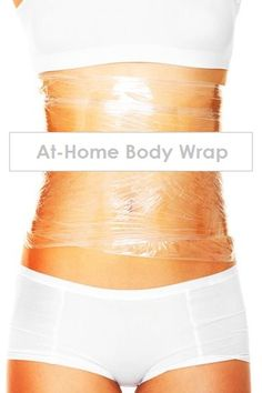 An At-Home Body Wrap You Can Make Right Now! Great body wrap DIY if you want to remove excess water weight to help you fit in your favorite dress or jeans! #diybodywrap #removeexcesswaterweight #loseweightfast