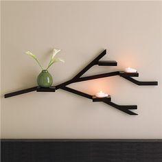 branch wall shelf.