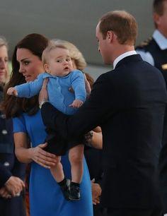 Prince George facial express