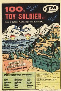 Soldiers, Killing & Guns - Great fun for the young ones!