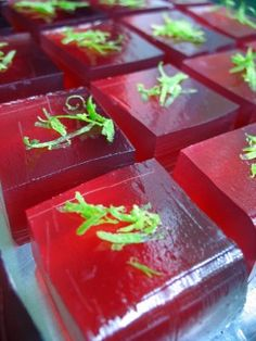 Sangria jello shot
