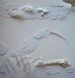 Artsonia Art Exhibit :: Paper Bas Relief Project