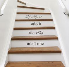 A Natalie acha brega mas eu quero mesmo assim =) decor, idea, sweet, stairs, dream, hous, diy, quot, step