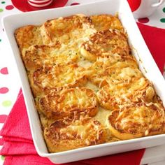 Savory French Toast Bake Recipe from Taste of Home