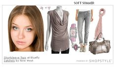 Casual Look for Soft Summer. Found at: http://blog.prettyyourworld.com/blog/the-12-seasons-soft-summer/