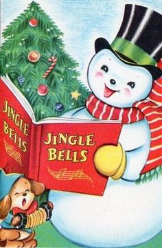 Jingle bells snowman