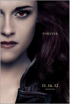 New Bella poster for #BreakingDawn Part 2! #BD2 #Twilight Repin if you're #TeamBella!