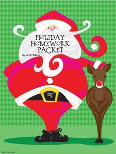 Just a little packet to keep your students' minds fresh during the holidays. This packet includes: * Holiday Reading Log * Reindeer short s...