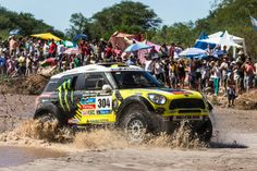 Never a clean fight at the Dakar Rally.